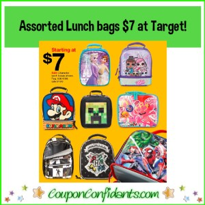 $7 Lunch Bags at Target!