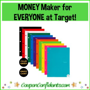 $0.25 MONEY MAKER Five Star Folders at Target!