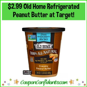 $2.99 Old Home Peanut Butter at Target!