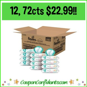 Twelve 72 packs $22.99! $1.91 each pack! WOW!