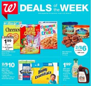 Walgreens AD July 19-25