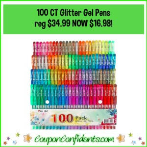100 ct Glitter Pens Reg $34.99 NOW $16.98
