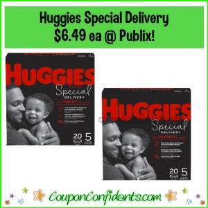 Huggies Special Delivery $6.49 each at Publix!
