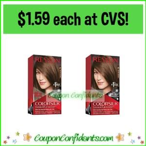 Revlon Colorsilk Hair Color $1.59 eac at CVS!