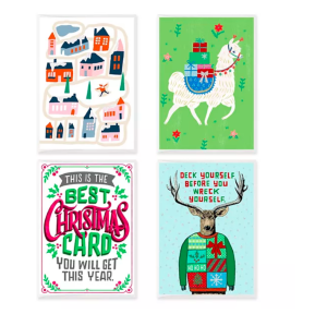 16 Holiday Cards – Was $12.99 NOW $3.30!