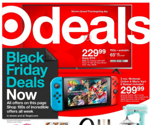 Target Black Friday AD FIFTY Pages?!?!