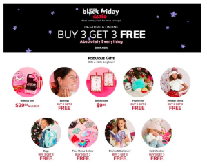 Claire's Black Friday SALE!