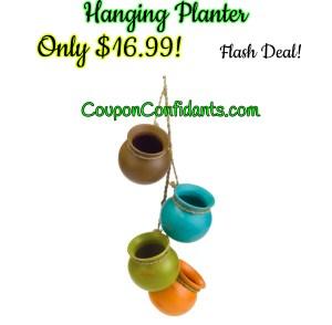 4 Planter Hanging Set $16.99!!