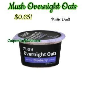 Mush Overnight Oats $0.65 @ Publix!