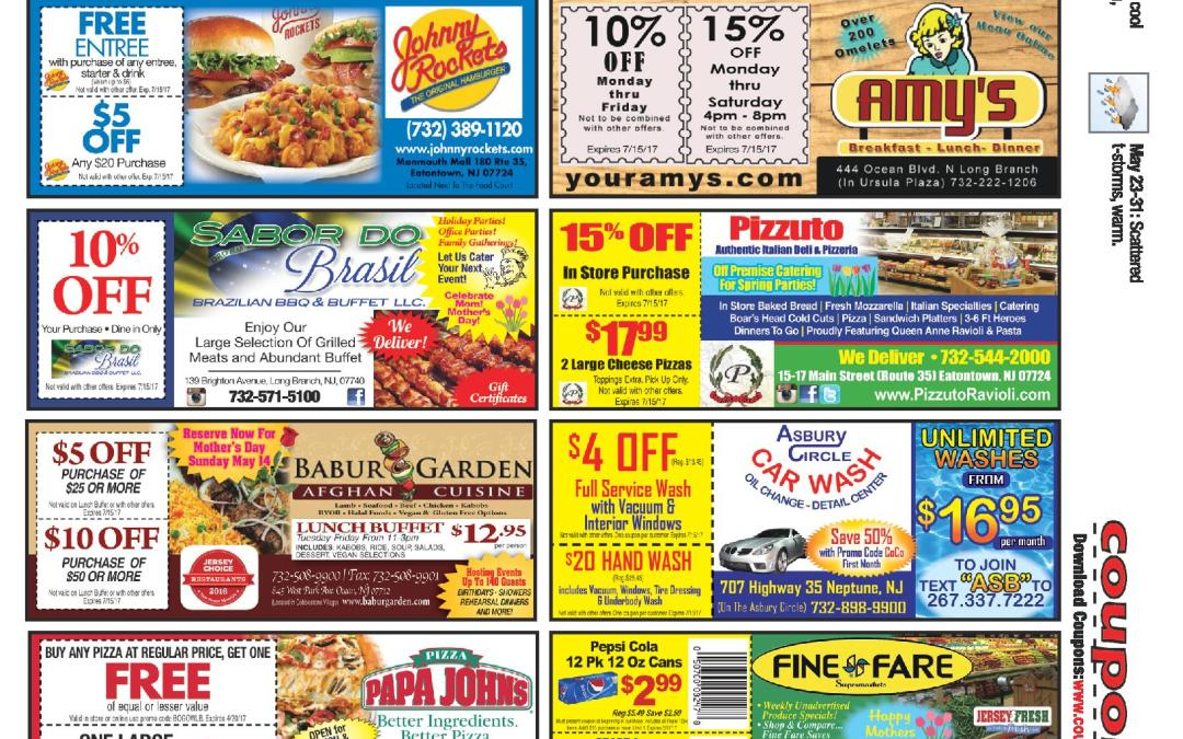 APRIL 2017 Coupon Connection/Happy Spring – Click To See Coupons