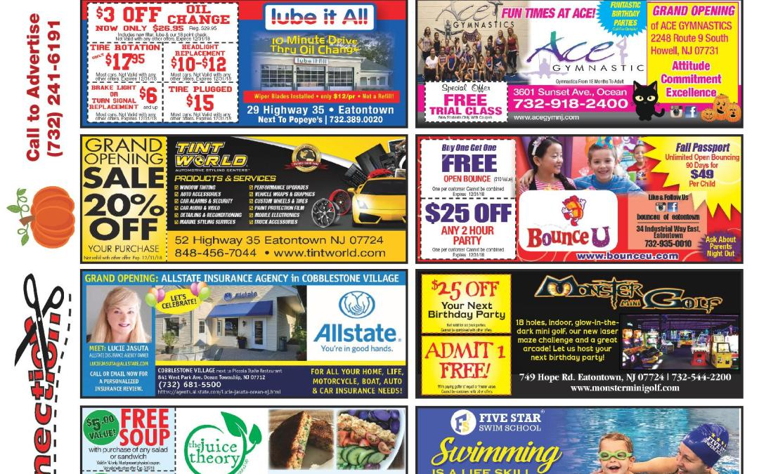 October/2018 Coupon Connection-Click Here To See Coupons