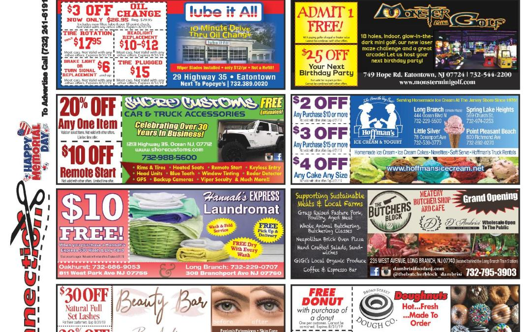May/2019 Coupon Connection – Click Here To See Coupons