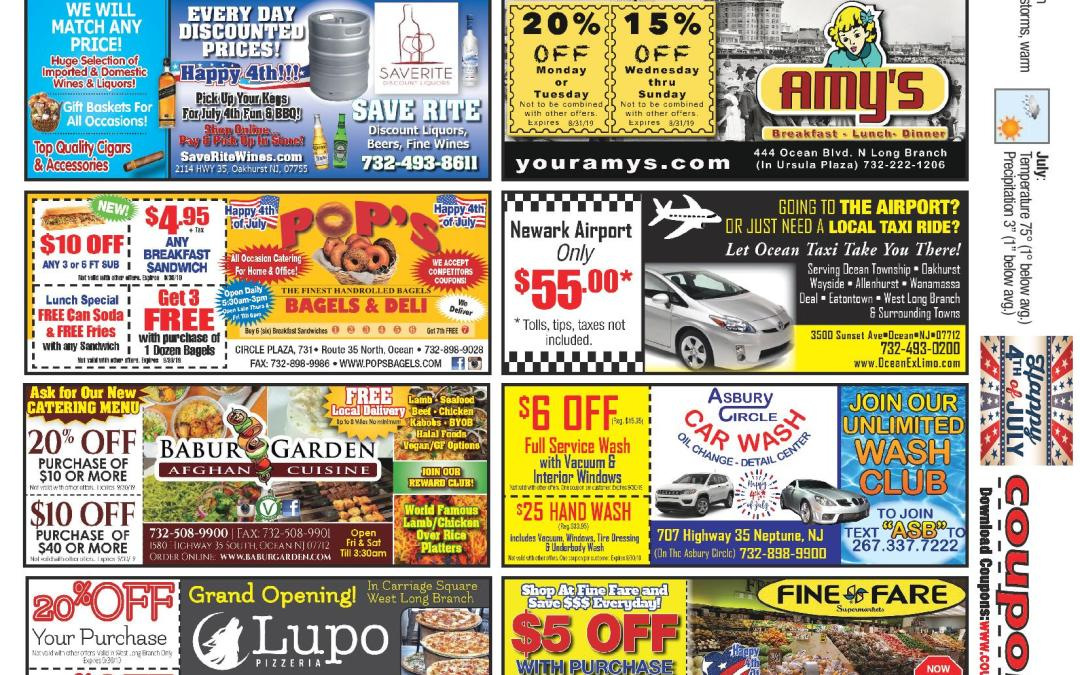 June/2019 Coupon Connection – Click Here To See Coupons