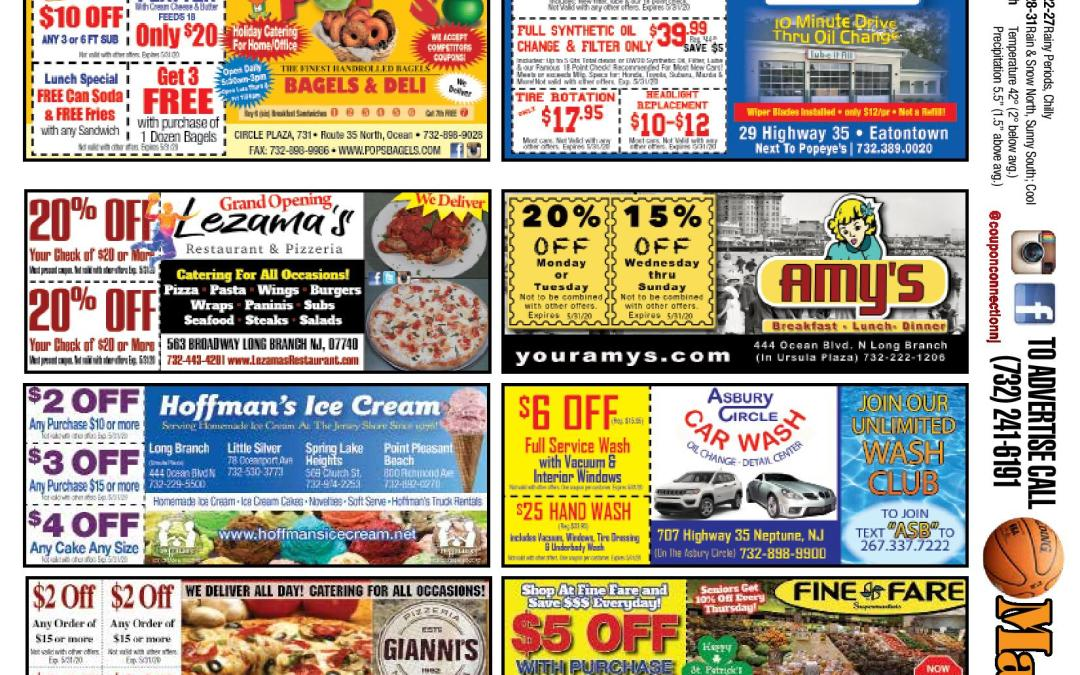 February/March 2020 Coupon Connection – Click Here To View Ads & Coupons