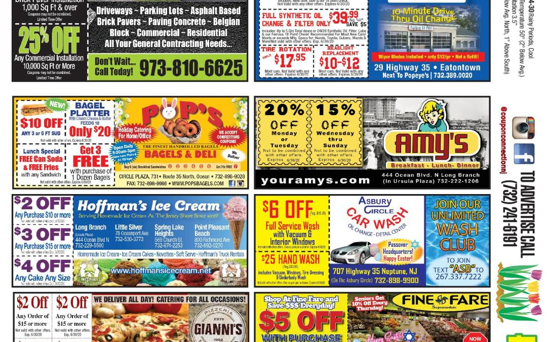 March/April Coupon Connection – Click Here To View Coupons & Ads