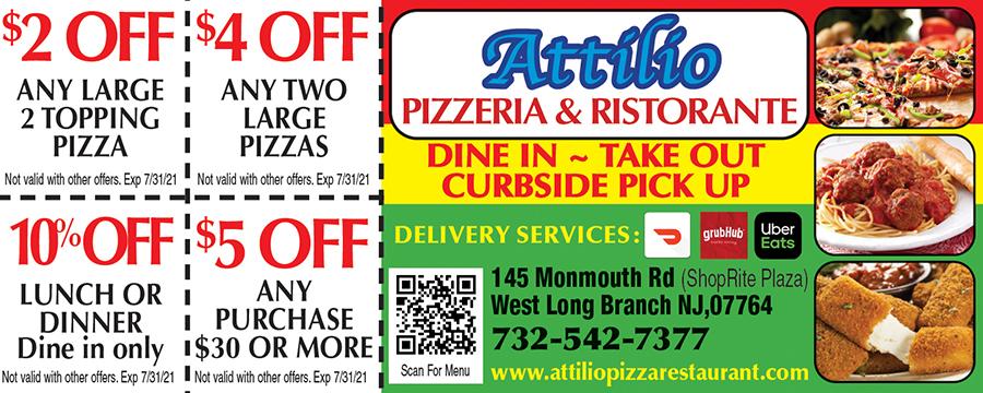 Attilio Pizzeria & Restaurant