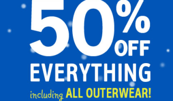 OshKosh B'Gosh: 50% Off Everything Including Outerwear + Additional 20% Off Clearance