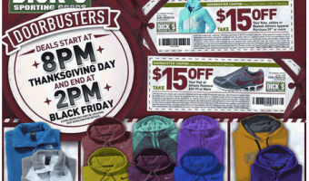 Dick's Sporting Goods 2013 Black Friday Deals