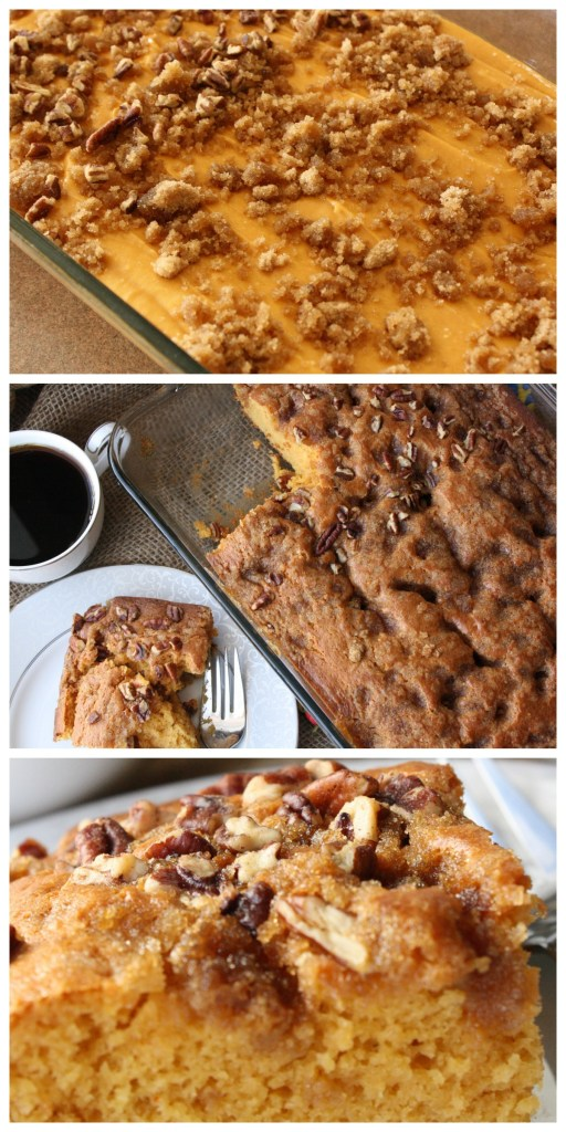 Are you on the lookout for coffee cake recipes? Easy, simple and delicious is the way to go. This recipe is the BEST I have had! And, there are only a few ingredients! Perfect for a brunch! https://couponcravings.com/butterscotch-coffee-cake/