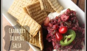 Cranberry Jalapeno Salsa Recipe