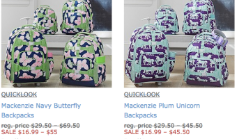 Pottery Barn: FREE Shipping, No Minimum Purchase on All Sites (+ Backpacks on Sale)