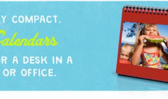 FREE Desktop Calendar ($9.99 Value!)