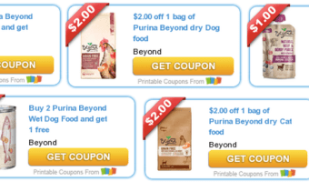 5 New Pet Coupons Available