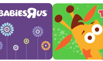 $100 BabiesRUs Gift Card, Only $85 Shipped | Also Valid at ToysRUs!
