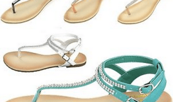 Women's Gladiator Sandals, Only $11.99 Shipped