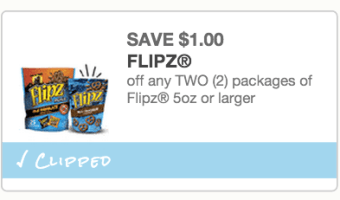 New $1/2 Flipz Coupon = Great Prices!