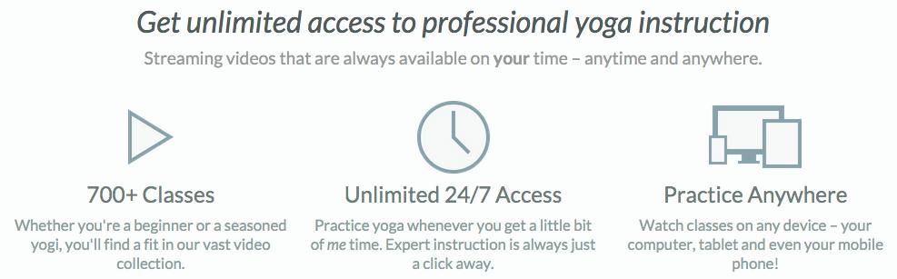 Black friday exclusive months of premium online yoga