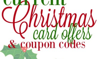 The Best Christmas Card Deals