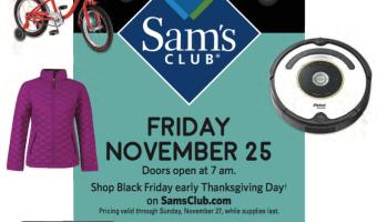 Sam's Club Black Friday 2016 Deals – SOME LIVE!