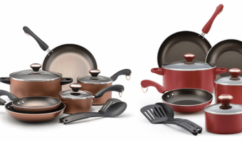 *HOT* Paula Deen 11-Piece Cookware Sets Just $39.97 After Rebate (Reg. $160)