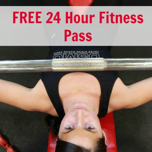 24 hour fitness free pass