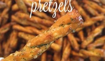 Snack Mix Recipes: Spicy Pretzels