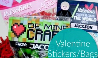 Valentine Labels, Only $6.95!