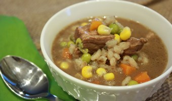 Crockpot Beef Barley Soup Recipe