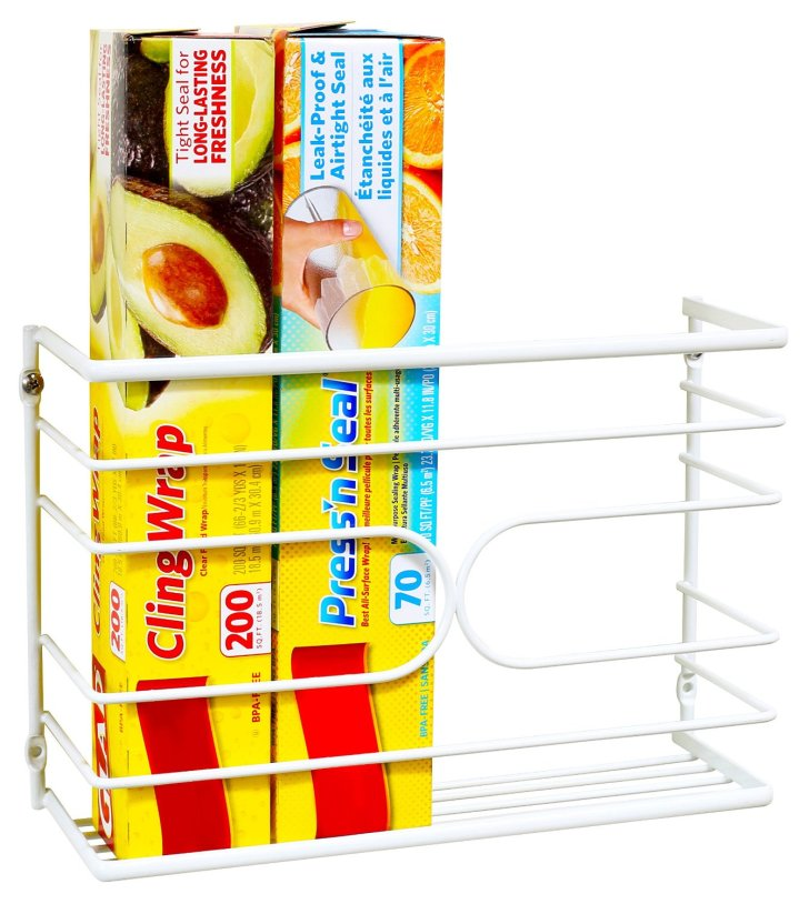 Kitchen Wrap Rack Organizer Sale