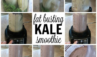 Fat Busting Blueberry Kale Smoothie Recipe