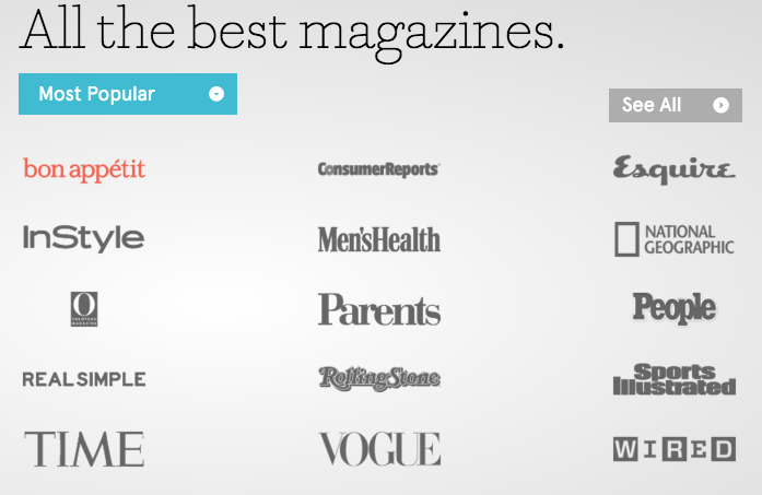 free magazine app