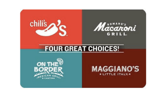 Save $10 on Dinner — Chili's Gift Card on Sale!