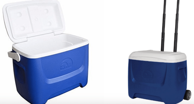 Igloo Cooler With Wheels And Handle Less Than 18