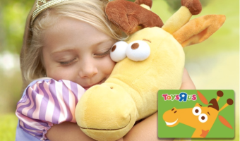Possible $20 Toys 'R' Us Gift Card Only $10