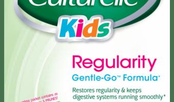 Culturelle Probiotics Helps Kids Tummies + WIN a $100 Visa Gift Card!