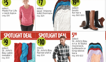 The JCPenney Black Friday Deals are ONLINE!