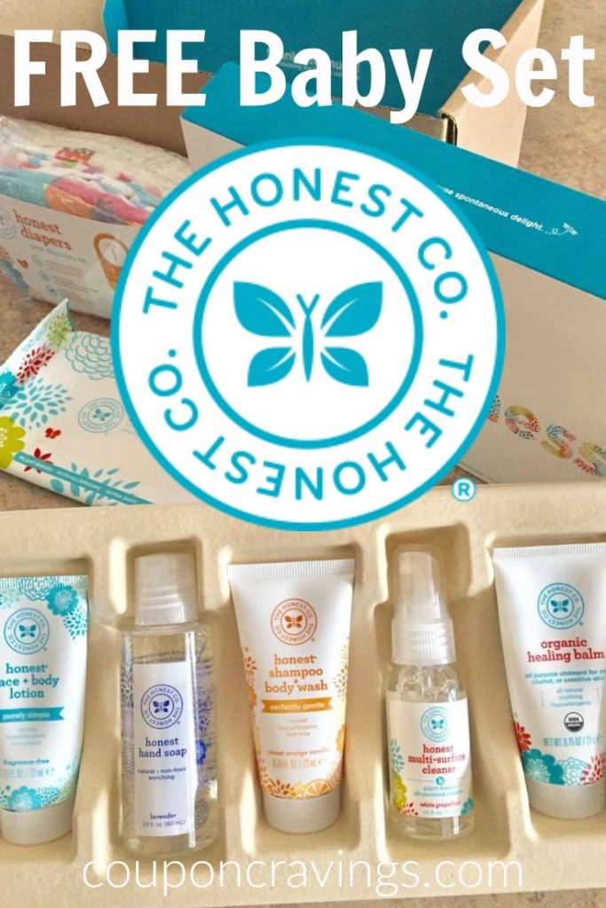 Free Baby Samples from The Honest Company -