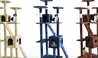 Save $75! Cat Tree Scratcher Play House Only $59.99 Shipped!