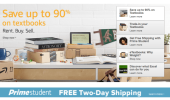 College Students Save on Textbooks (up to 90%!)