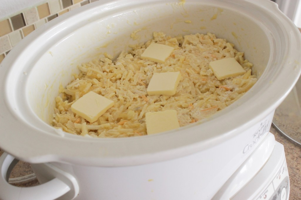 cheesy potato recipe crock pot